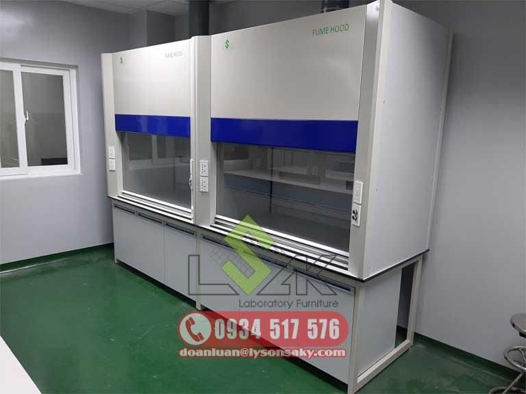 Tủ hút khí độc phòng thí nghiệm fume hood