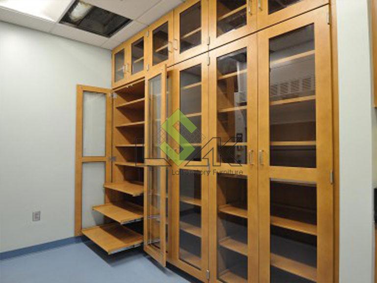 Tủ lưu mẫu phòng thí nghiệm bằng gỗ